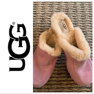 UGG lavender purple Kalie clogs